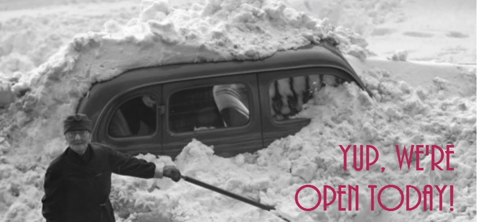 Snow Day Yup We Re Open Tues March 14th Community