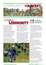 Community Harvest newsletter Summer '05