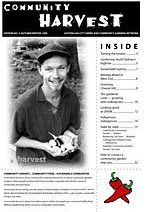 Community Harvest newsletter Winter 1999