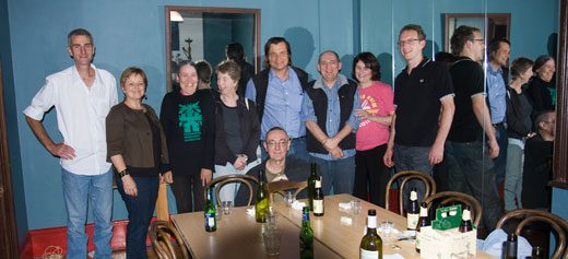 Interstate community garden network people and Sydney locals joined the TransitionSydney crew for a TransitionSydney Cafe Conversation to meet the interstate visitors.