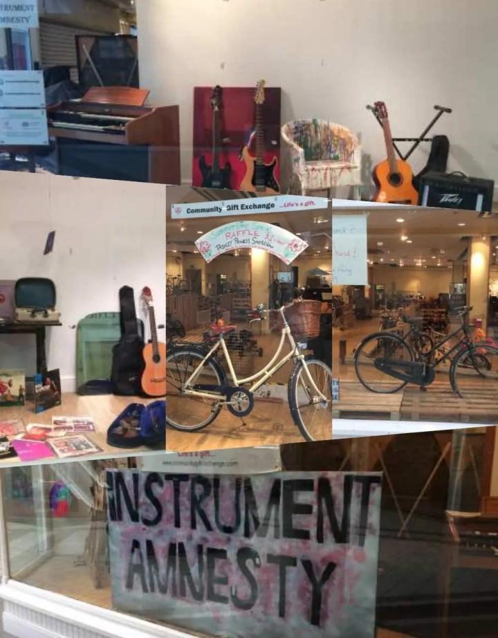 CGX shop front Kyle Centre