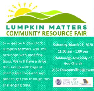 LUMPKIN MATTERS MARCH 21, 2020