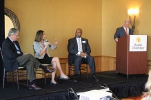 State Sen. Kirk Watson, panelists discuss MoPac South express lanes