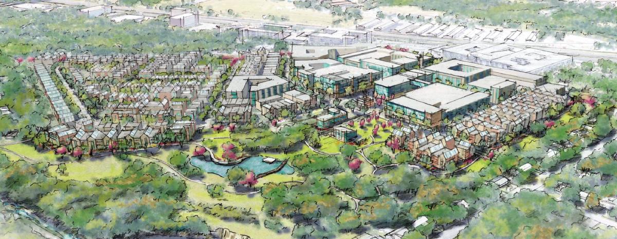 Grove at Shoal Creek master plan amended