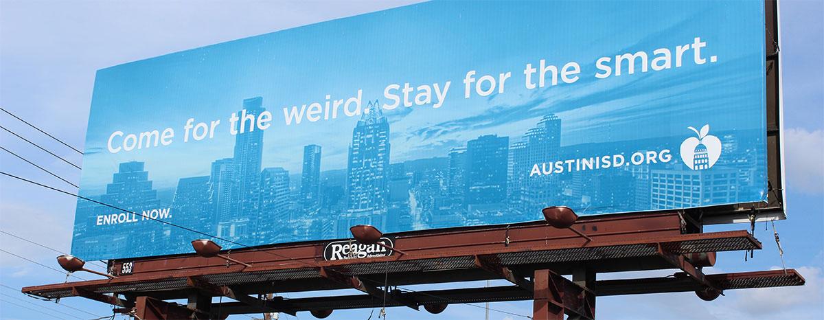 AISD Billboard