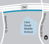 Design underway for eastbound Hwy. 290 frontage road sidewalks in Southwest Austin