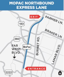 First section of MoPac express lane now open