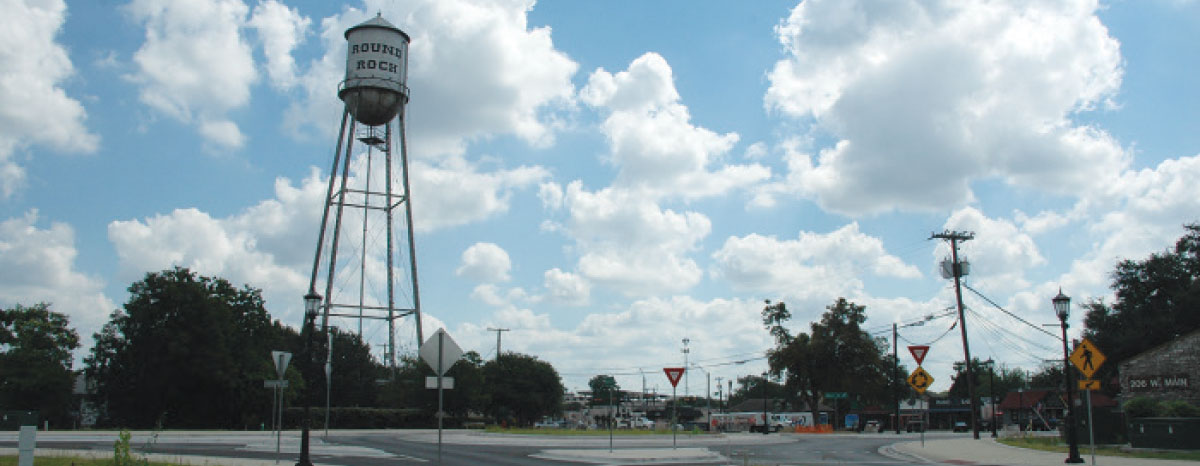 Downtown Round Rock construction nearly complete