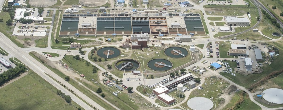 Today the Wylie water treatment facility treats up to 770 million gallons of water per day to residents in 10 counties.