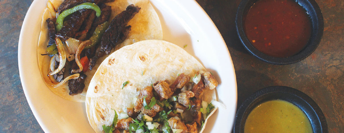 Kyle's El Roble offers a variety of tamale and taco options for breakfast, lunch and dinner.