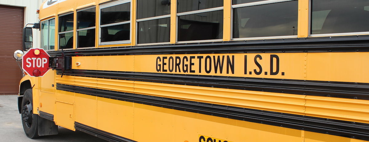 Georgetown ISD had its monthly school board meeting Monday night.