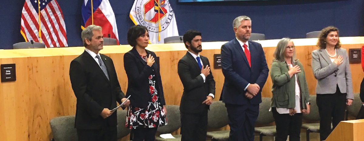 2017 introduces new leadership to the city of Austin
