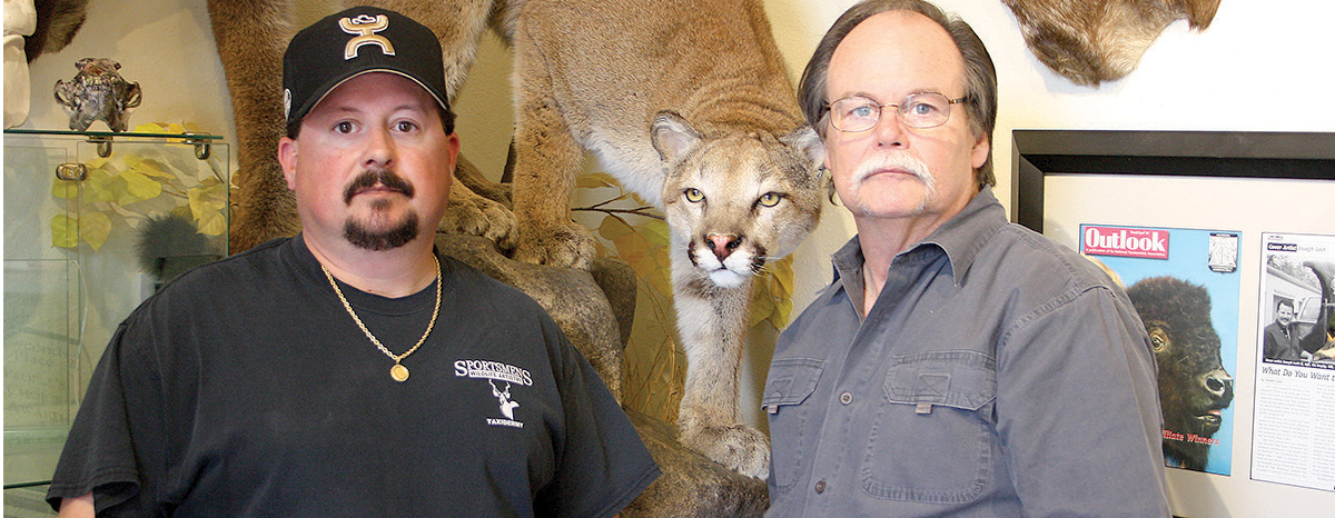 Joey (left) and Joe Lesh own and run the Cypress-area shop.