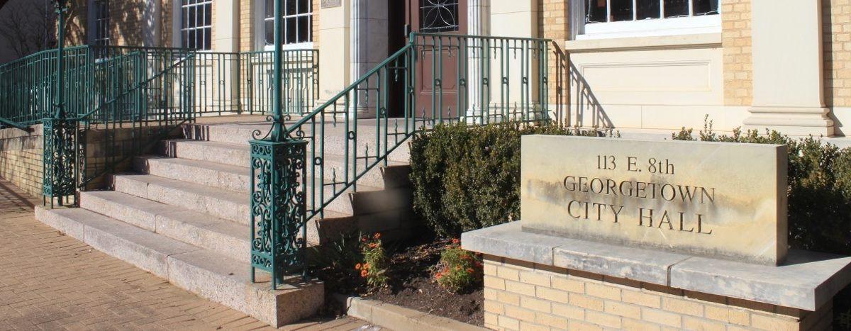 Three Georgetown city council positions are up for grabs during the May 6 election.