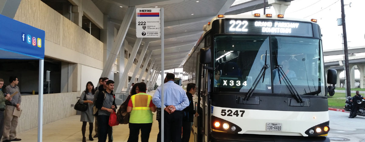 METRO garage opens at Grand Parkway Park & Ride