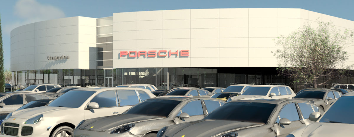 Park Place Dealerships is building a Porsche dealership in Grapevine.