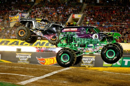 Monster Jam will take place this Saturday and Sunday at NRG Park.