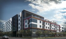 Six-story mixed-use project breaks ground west of downtown Austin