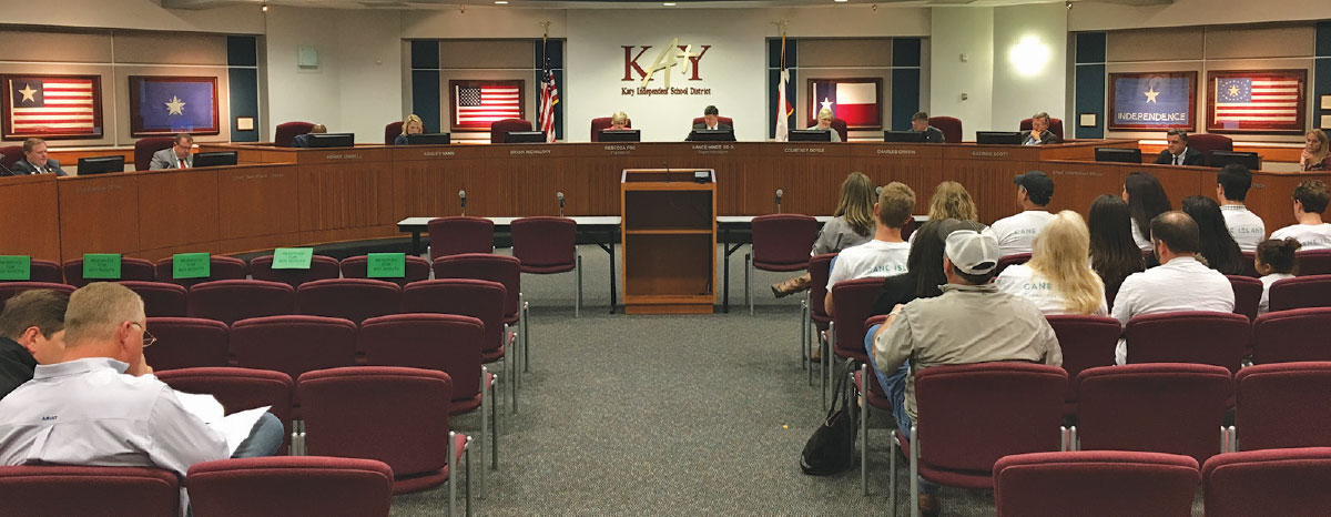 The bond advisory committee will present their plan package at the June board of trustees meeting.