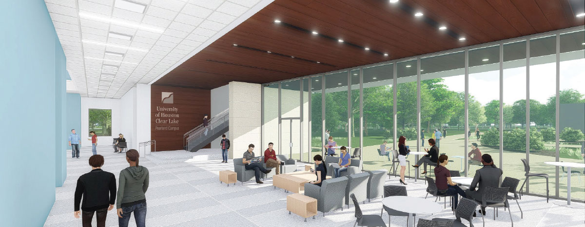 UHCL to break ground on health sciences center at Pearland campus this month