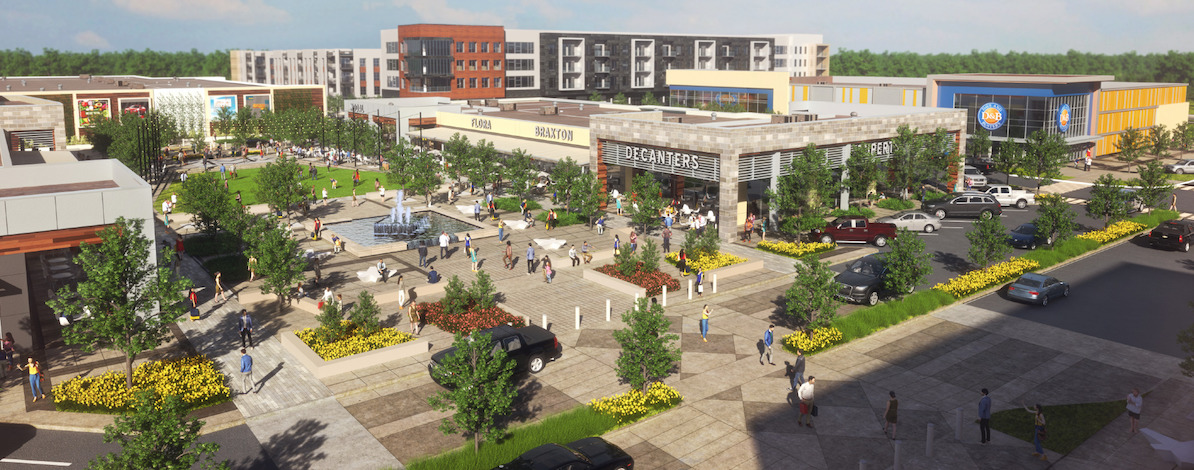 Dave & Busters is one of the new tenants that will join Shenandoah's MetroPark Square.