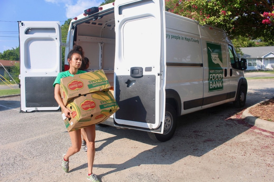 Hays County Food Bank relies on volunteers to serve those in need.