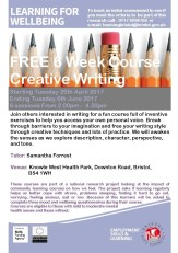 April Creative Writing