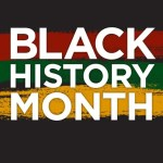 Black History Month written as text