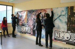 Acteurs de Noob au Dijon SAITEN