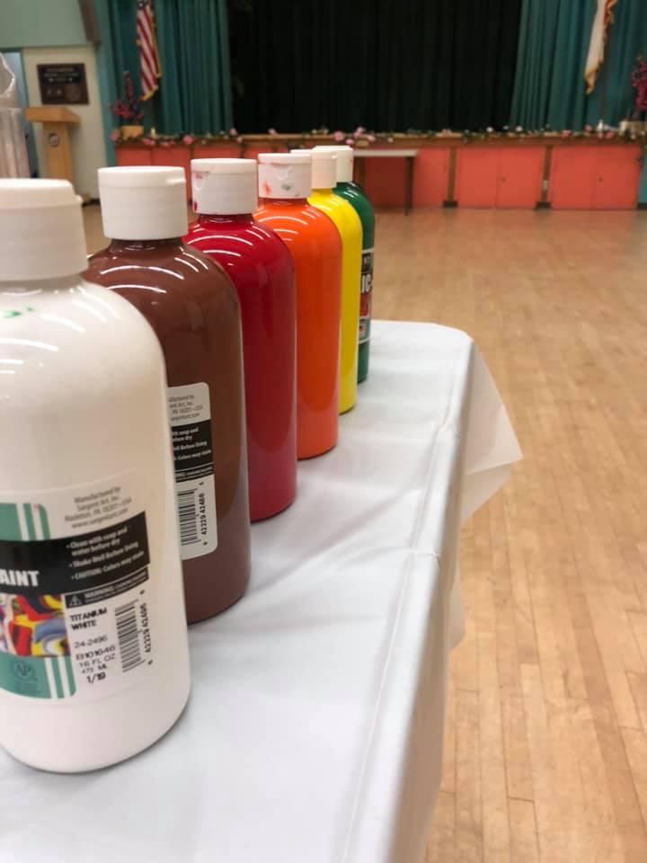 PAP April 4 - LMU Students Host Paint and Pour for Seniors