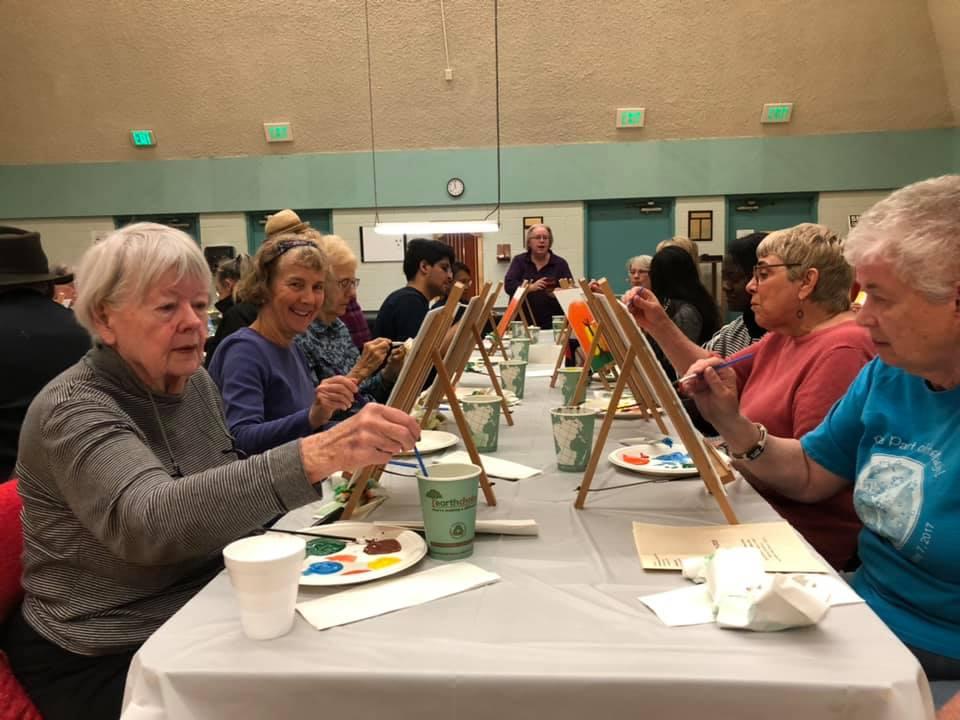 PAP April 5 - LMU Students Host Paint and Pour for Seniors