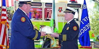 Miami-Dade Fire Rescue conducts first Change of Command event