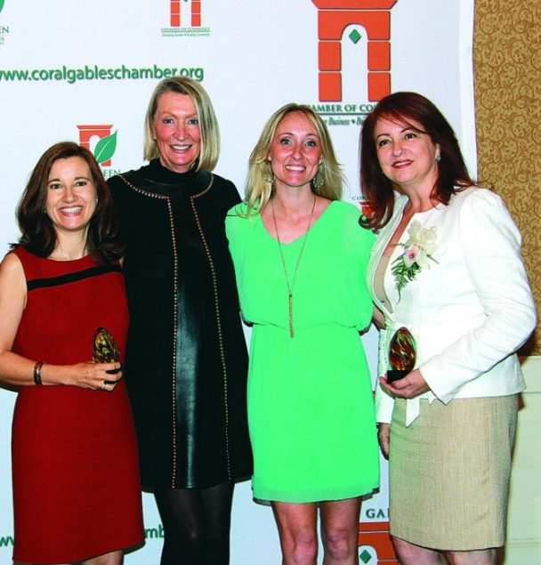 Gables Chamber honors 5 as Businesswomen of Year