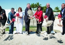 County breaks ground on senior community center