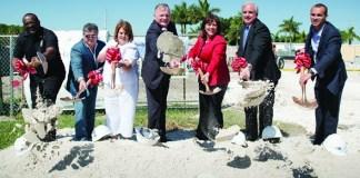 County breaks ground on senior community center