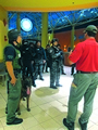 Active shooter tactical training drill takes place in Dolphin Mall
