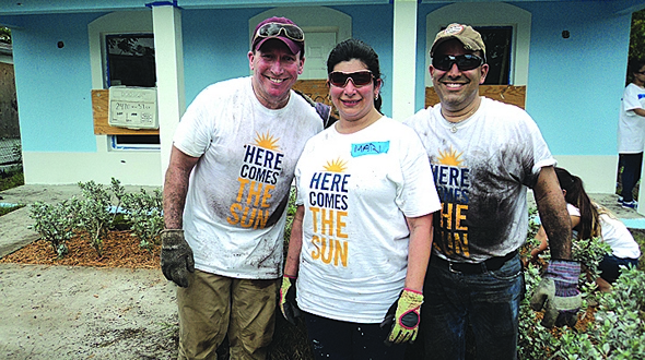 Home Financing Center Employees Pitch In For Habitat For Humanity Miami S Community News