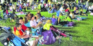 Over 600 attend Spook-tacular Movie Night at Devon Aire Park