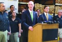 Gov.Scott announces tax holiday for hurricane preparedness supplies