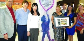 MCHF honors Anthony Abraham Foundation with mural unveiling