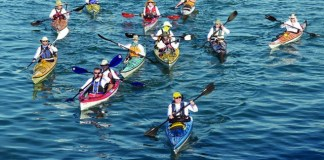 Kayakers travel from Miami to Key West to benefit ACS
