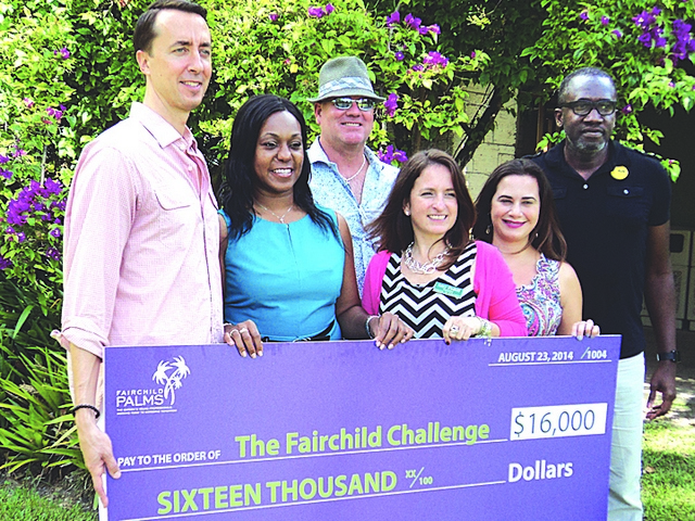 Fairchild Palms donates $16,000 to 13th annual Fairchild Challenge