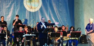 FIU's Jazz Big Band delighted fans at the 1st Four Seasons