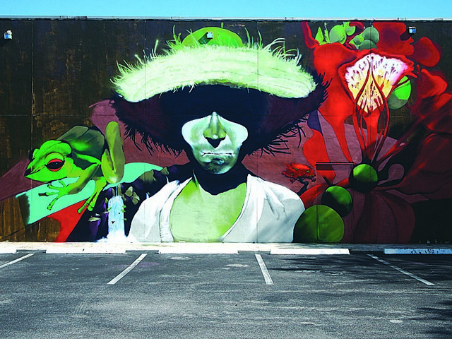 Painting the town RAW with bold, new street art