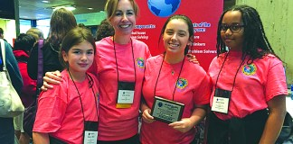 Westminster Christian Students tackle future problems at international event