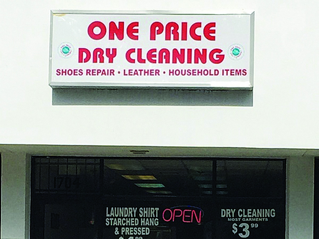 One Price Dry Cleaning Expands To Coral Gables Miami S Community News