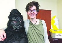 Palmetto Senior High students recycle cell phones to save gorillas