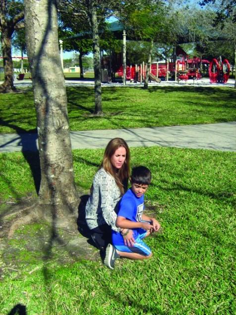 Sandy area 'safety hazard for park kids,' mom says