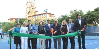 City reopens renovated tennis center at Biltmore