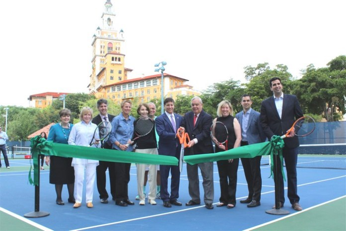 City reopens renovated tennis center at Biltmore
